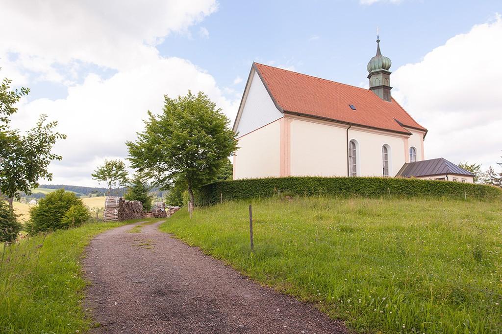 Die Ohmenkapelle im Hochschwarzwald